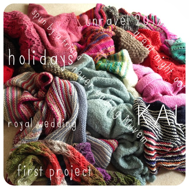 knitted shawls and memories, handknits, knitting, yarn