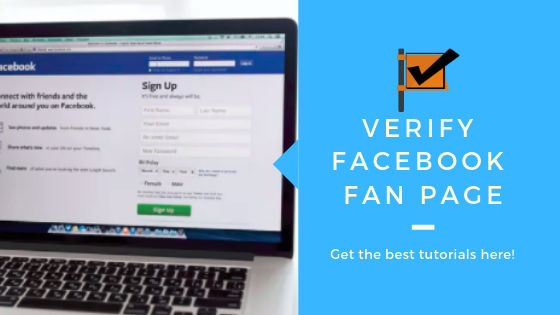 How Can I Verify My Facebook Page<br/>