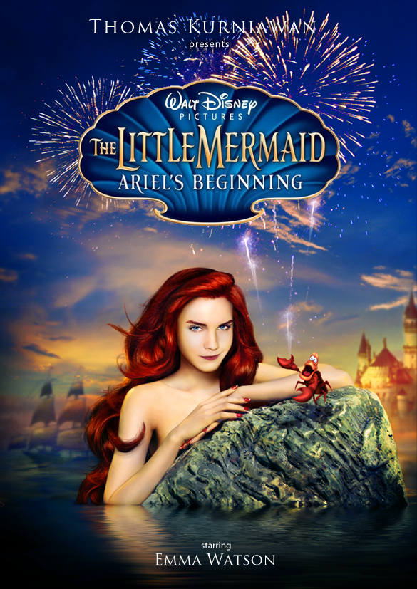 Thomas Kurniawan39s Portfolio The Little Mermaid Poster