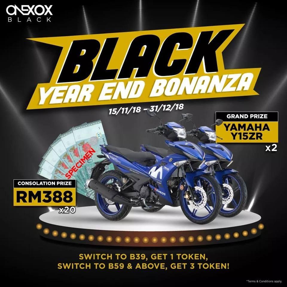 ONEXOX BLACK Year End Bonanza