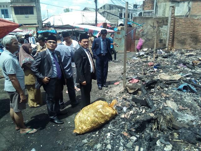 Komisi III DPRD PALI Berjanji Akan Berikan Solusi Kepada Korban Kebakaran
