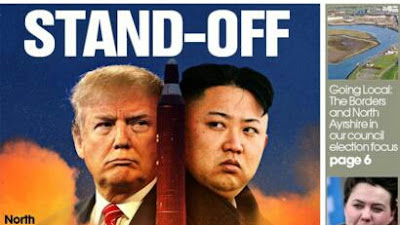 Rising tensions between the US and North Korea