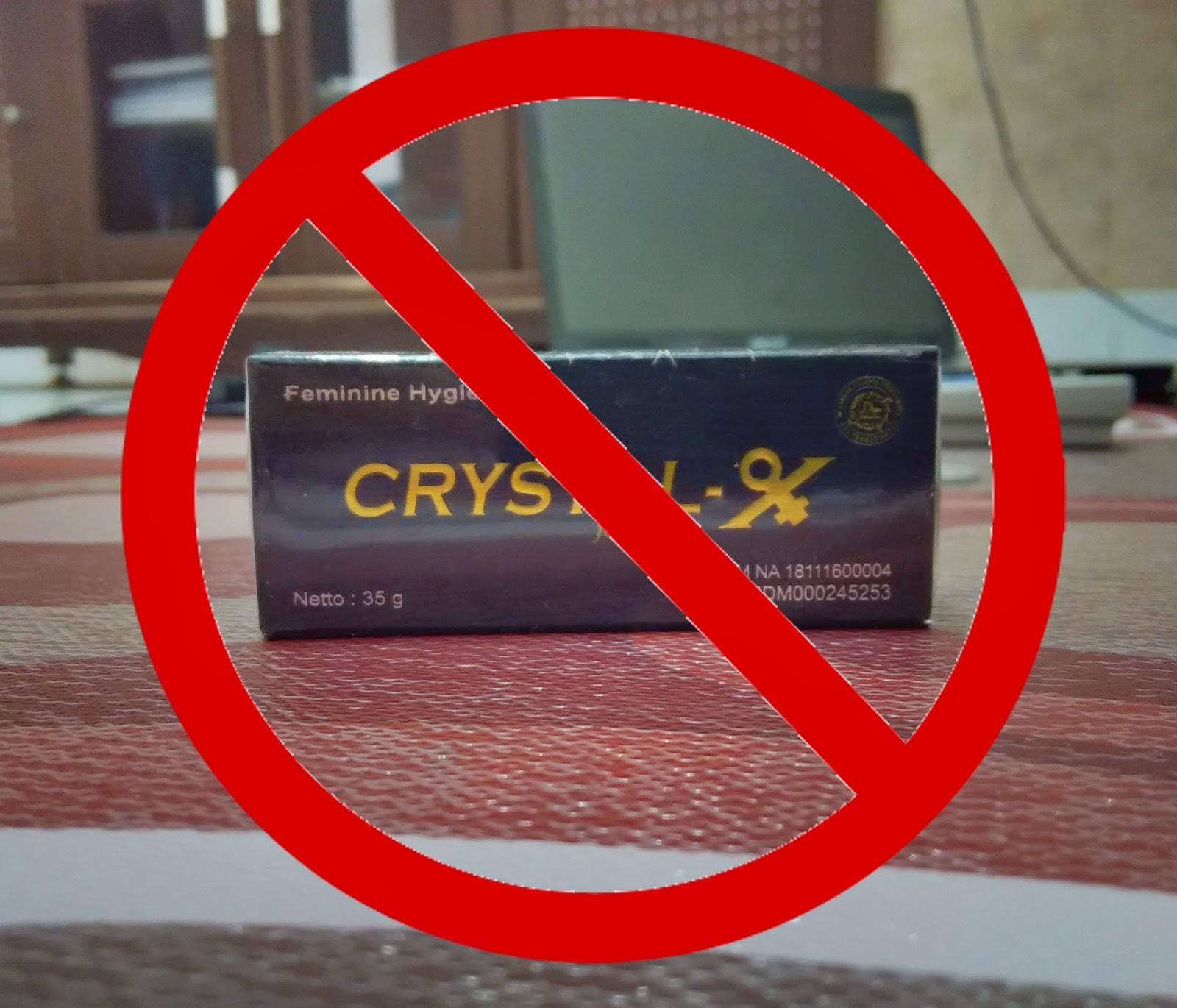 Bahaya Pemakaian Crystal X Pada Wanita