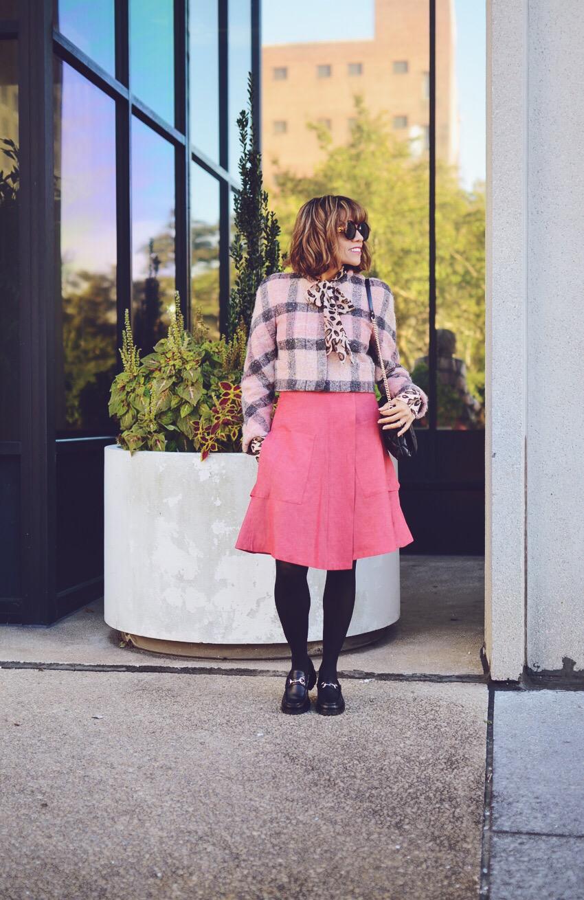 Total Pink Look Street Style