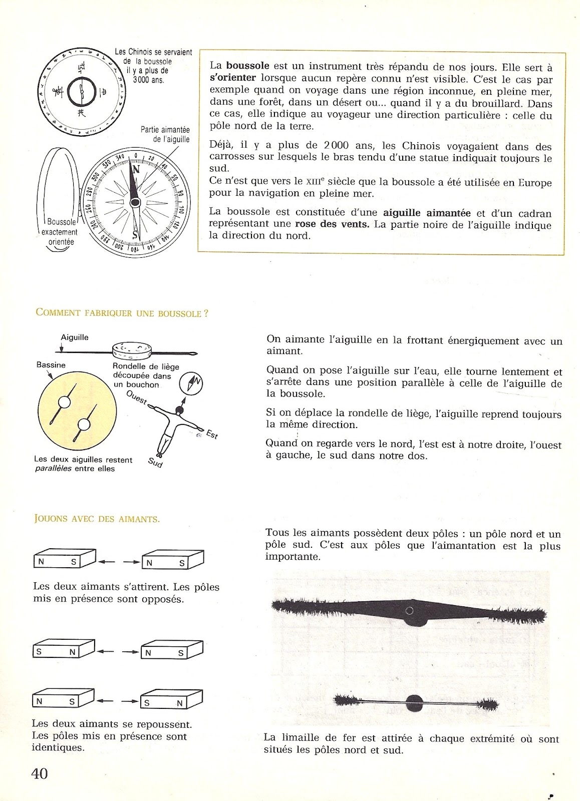 Manuels Anciens 20 La Boussole