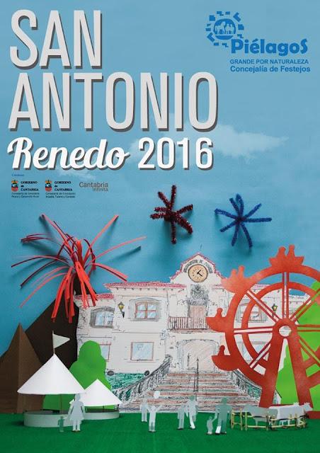 Feria de Día en las Fiestas de San Antonio 2016 en Renedo
