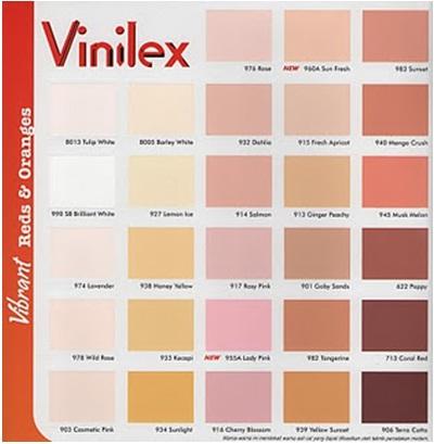 contoh katalog warna cat Vinilex