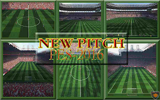 Pes 2016 New Pitch by DzhonX