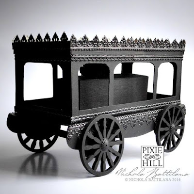 Paper Funerary Carriage - Nichola Battilana