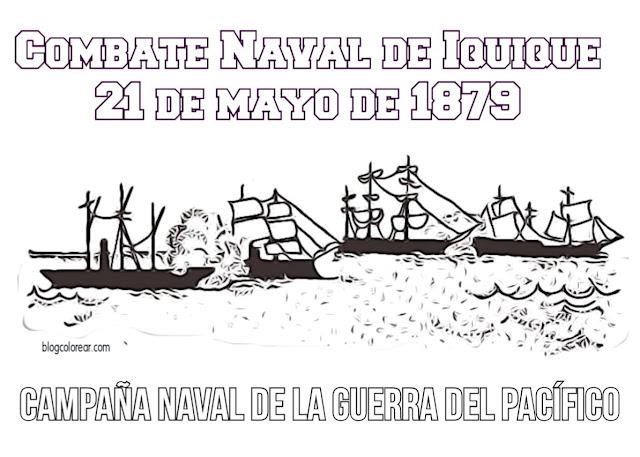 barcos del combate naval de iquique
