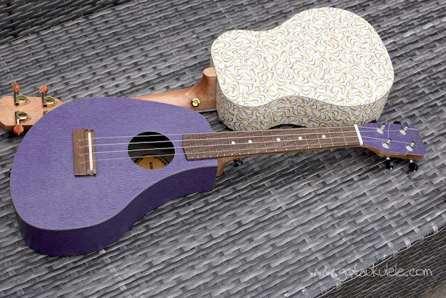 bonanza concert ukulele amoeba shape