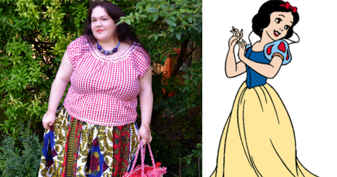 Outfit Plus size: disneybound in collaborazione con i blogger del #bodypositeamIT