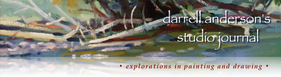 Darrell Anderson's Paintings, Marker Drawings and Prints
