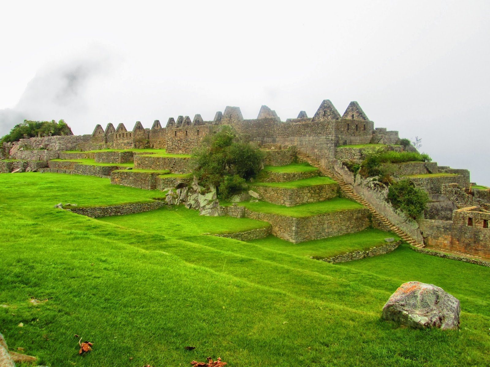Machu Picchu sin turistas