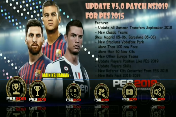 Download PES 19 Lite HD New Update Winter Transfer 2019 | PES-ANDROID