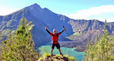 Plawangan Senaru Crater Rim altitude 2641m - Mount Rinjani