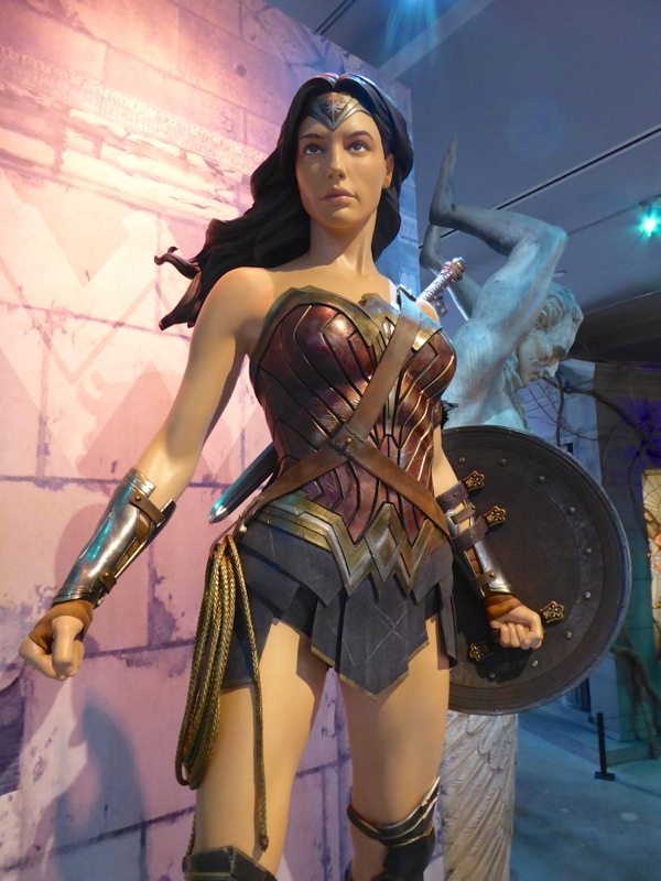 Batman v Superman Dawn of Justice Wonder Woman costume