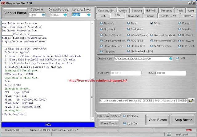 Samsung B310E dead Solution and Tested Flash File