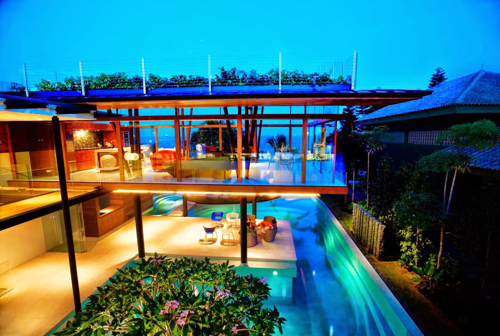 50 stunning houses in singapore urban architecture now - La residence exotique fish house singapour ...