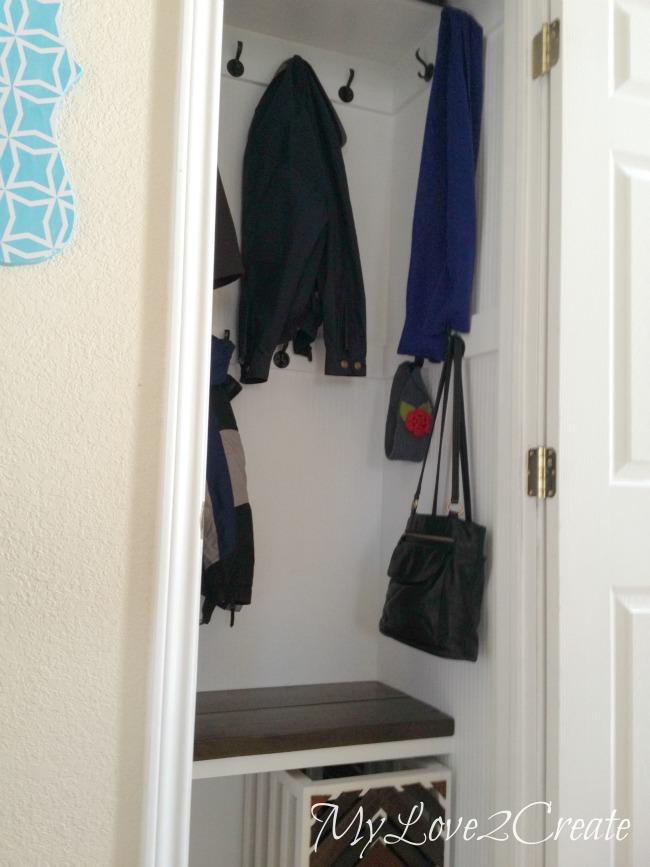 MyLove2Create, Hall Closet Makeover