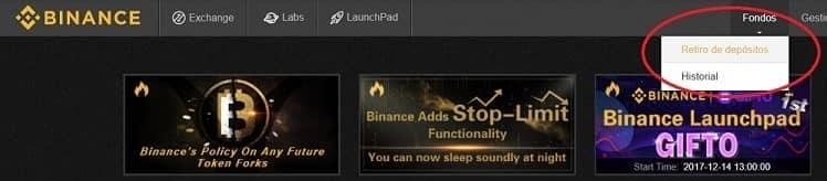 depósito ethereum bitcoin en binance comprar bitshares