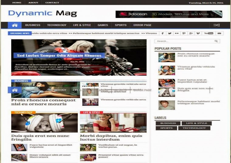 Dynamic mag responsive blogger template free download free blogger dynamic mag responsive blogger template free download maxwellsz