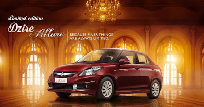 2017 Maruti Suzuki Swift Dzire Allure Limited Edition HD image