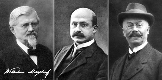 The first Mercedes model implementers