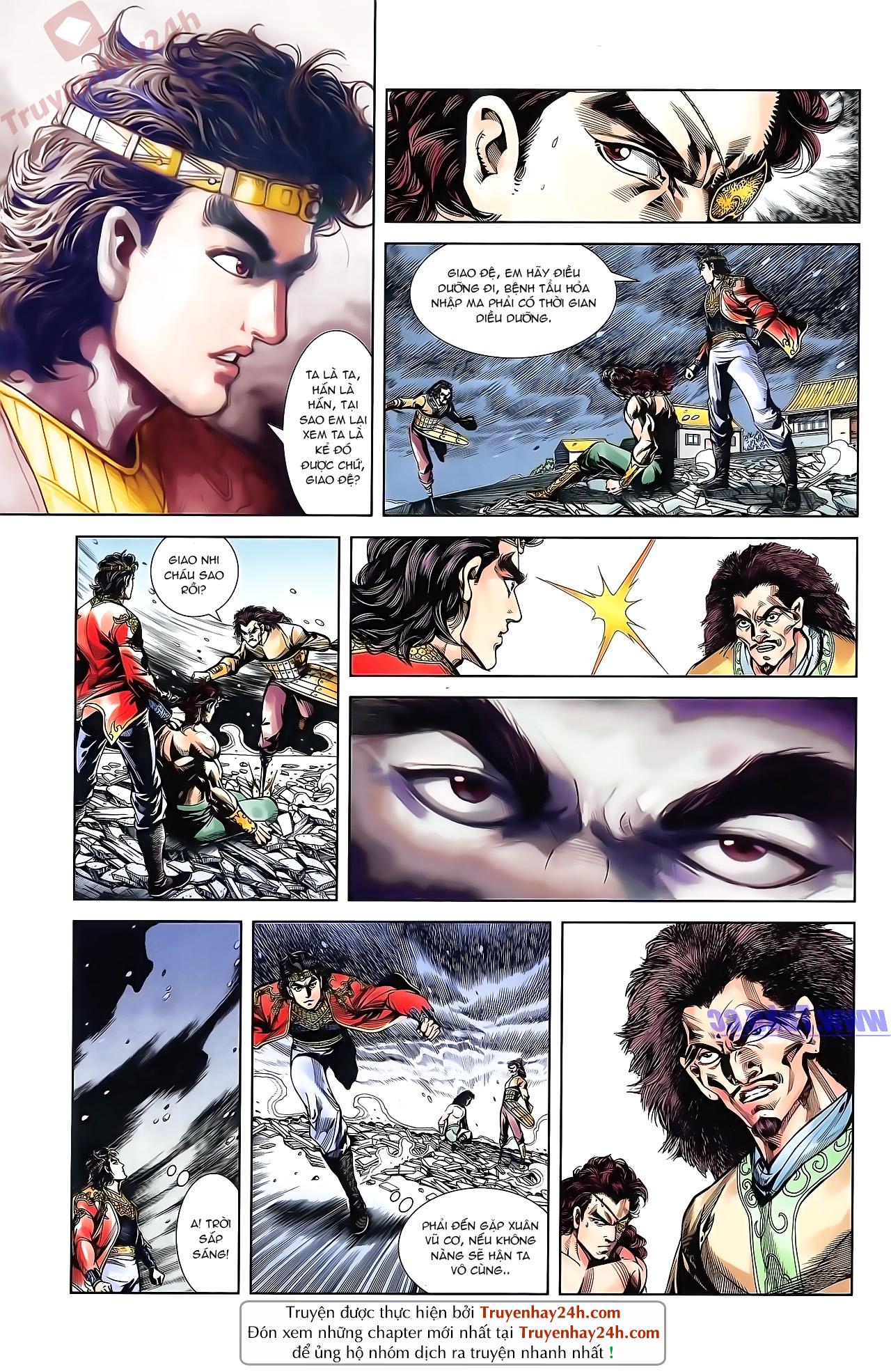 Tần Vương Doanh Chính chapter 51 trang 12