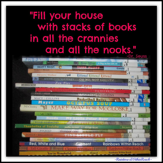 Dr. Seuss Quote for books! at RainbowsWithinReach
