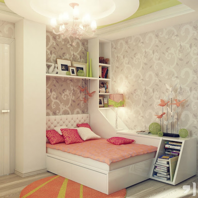 Modern And Stylish Smart Teenage Girls Bedroom Ideas