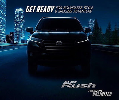 Teaser Siluet All New Toyota Rush