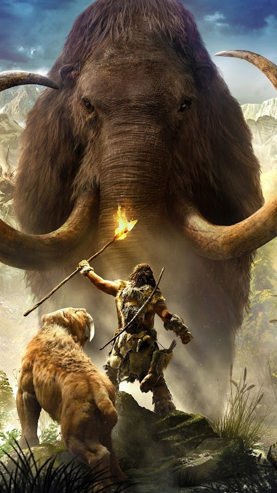Far Cry Primal Game Galaxy Note HD Wallpaper