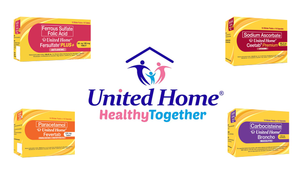 United Home products : healthy together