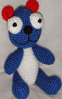 http://www.ravelry.com/patterns/library/free-pattern--teddy-b-proud-a-crochet-pattern