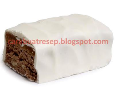 Foto Resep Nougat Coklat Putih Kacang Sederhana Spesial Asli Enak
