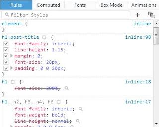 Menu Inspect Elemen Pada Mozilla Firefox Menggunakan Inspect Elemen pada Firefox