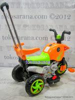 Motor Mainan Aki Pliko PK301 Hibrid: Dinamo Motor dan Gowes 4
