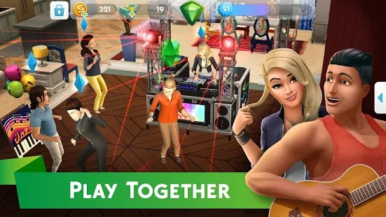 The sims mobile Apk Mod Free on Android Game Download