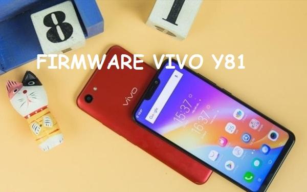 firmware vivo y81