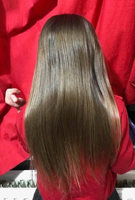 soft and silky hair