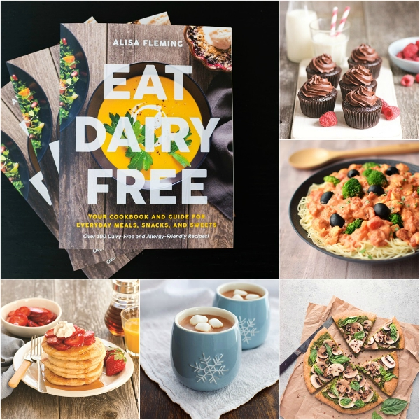 A review and recipe from Eat Dairy Free by Alisa Fleming - www.welcomingkitchen.com