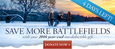 Four More Days to Protect Our Battlefields in 2016