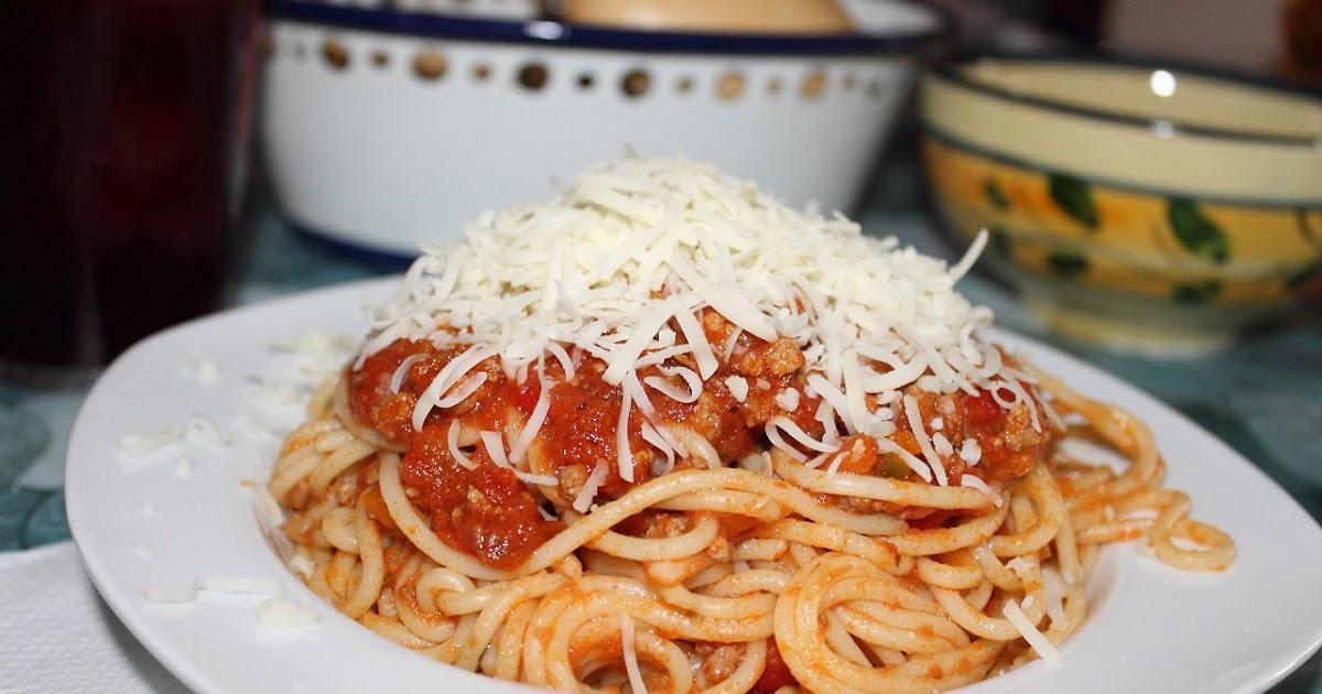 Espaguetis bolo esa for Plato de espaguetis