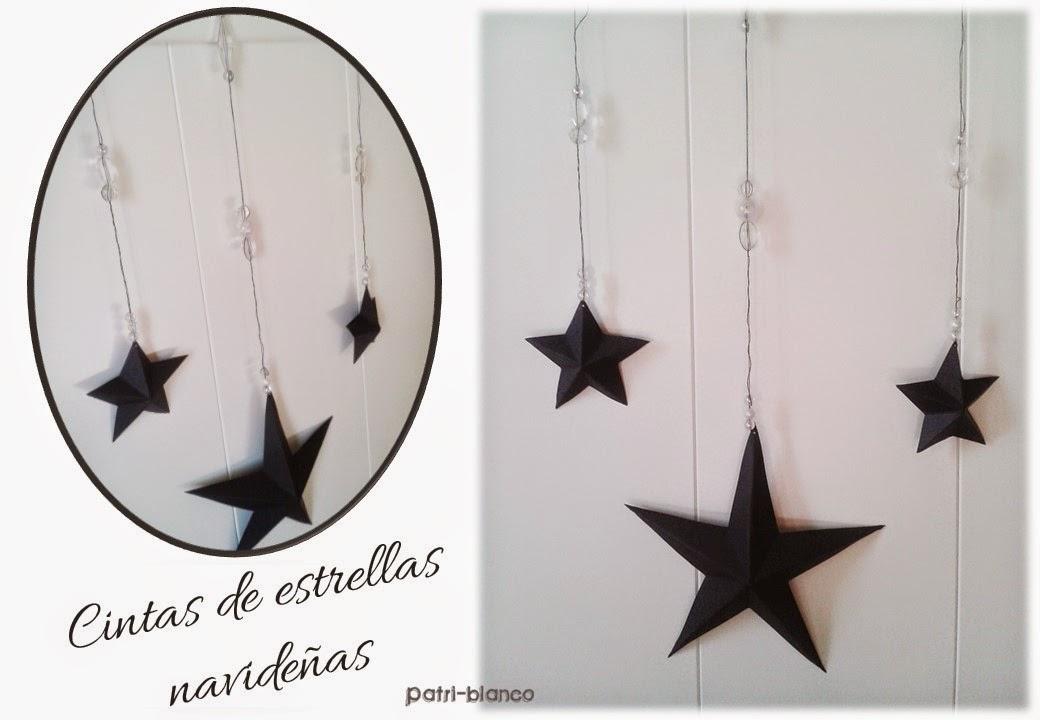 cintas de estrellas navideñas