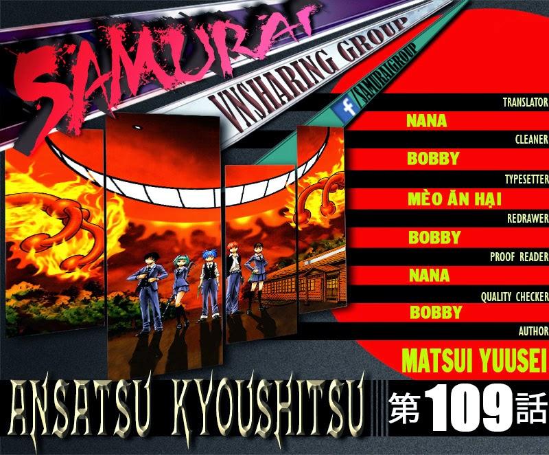 Ansatsu Kyoushitsu chap 110 trang 1