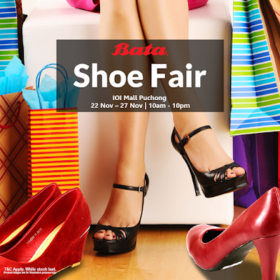 BATA Branded Shoe Fair is happening at IOI Mall Puchong