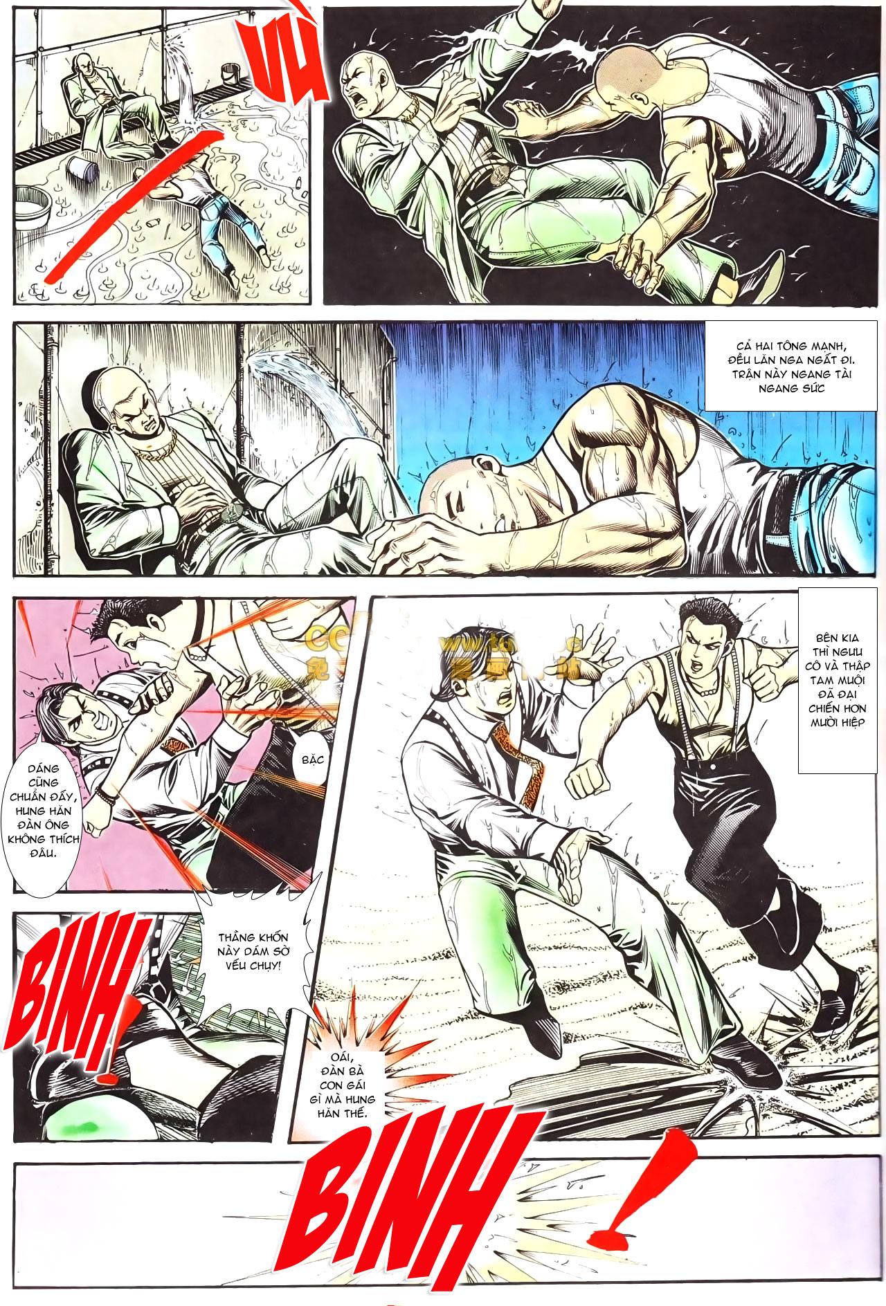 Người Trong Giang Hồ chapter 169: kết cục khủng long trang 9