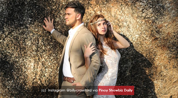 Coleen Garcia and Billy Crawford to wed on April this year