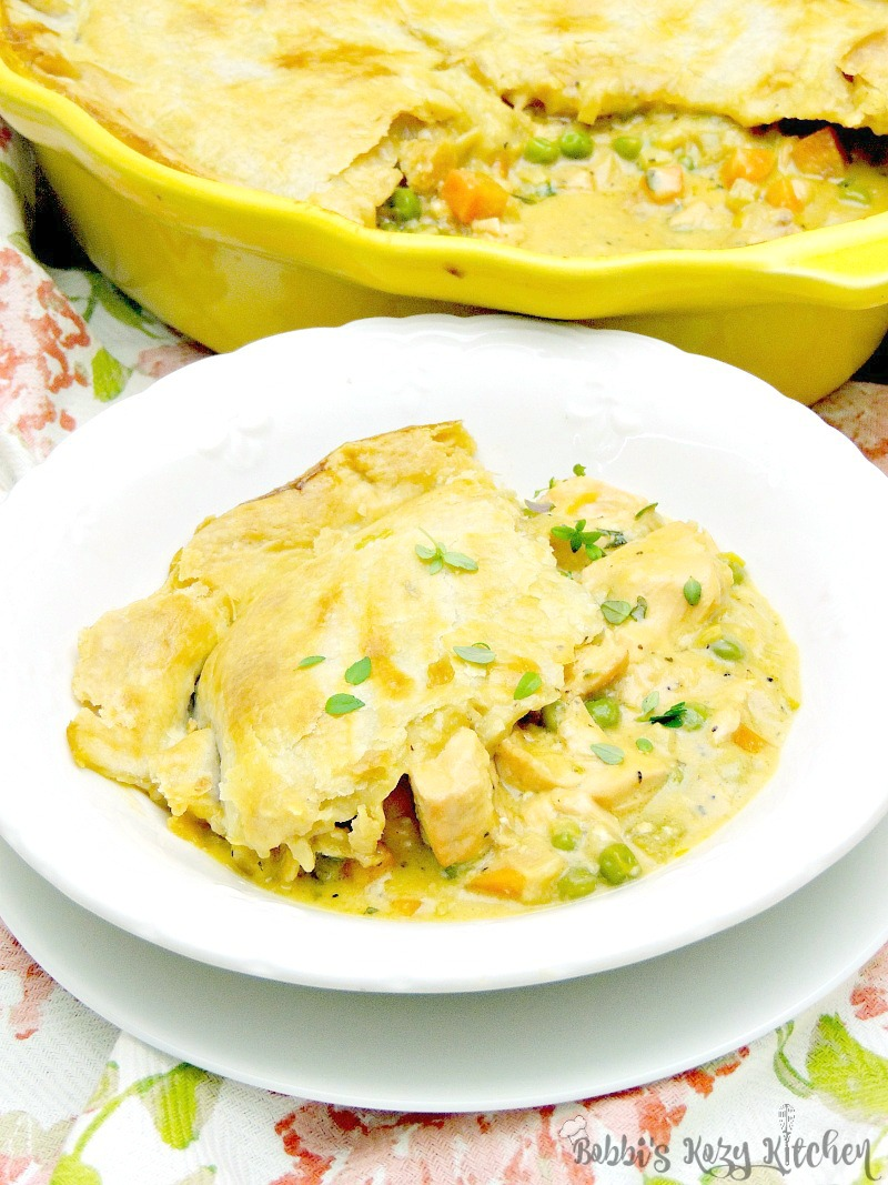 Move over chicken pot pie, this salmon pot pie is going to take your place as the family favorite! From www.bobbiskozykitchen.com
